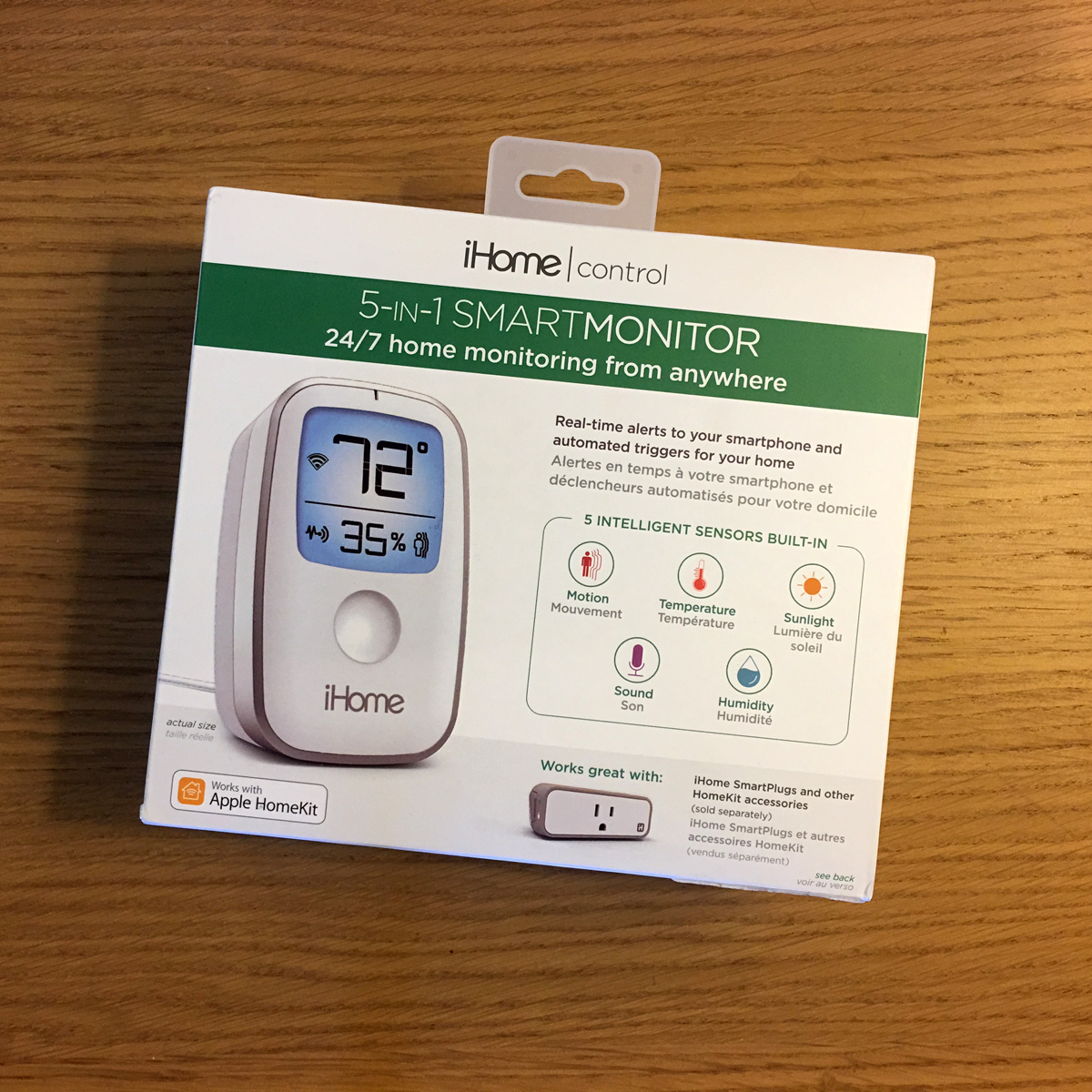 Wondrous Ihome Iss50 5 In 1 Smart Monitor Review Homekit News And Download Free Architecture Designs Rallybritishbridgeorg