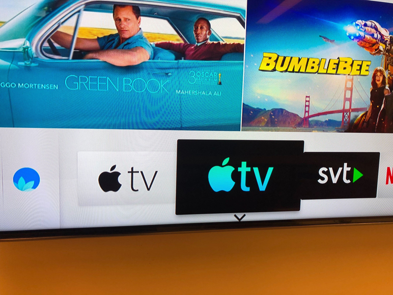 First Look - Samsung TV with Airplay 2 and The Apple TV ...