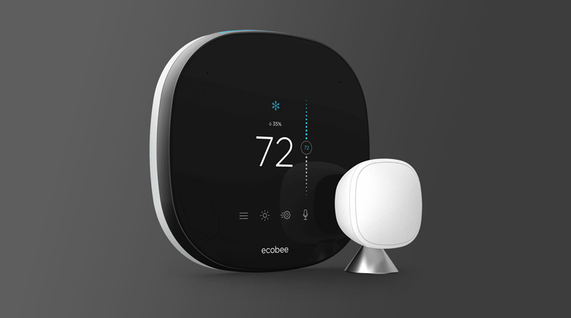 The NEW ecobee Smart Thermostat with Voice Control