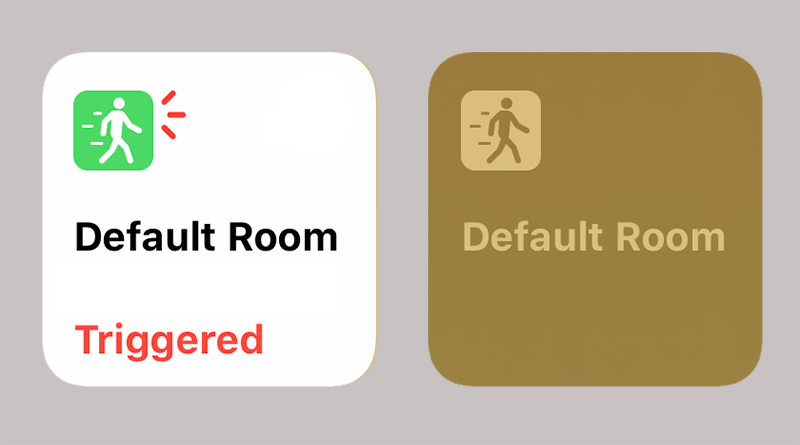 Icon changes to HomeKit in iOS13