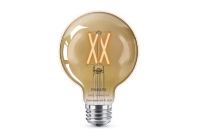 WiZ Connected G25 Amber Filament Bulb