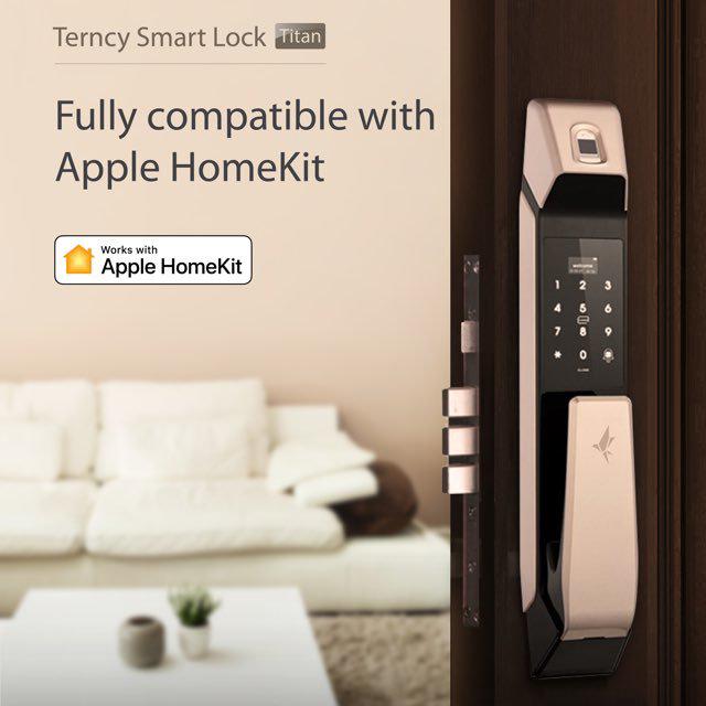 Terncy Introduce HomeKit Smart Lock to Their Range