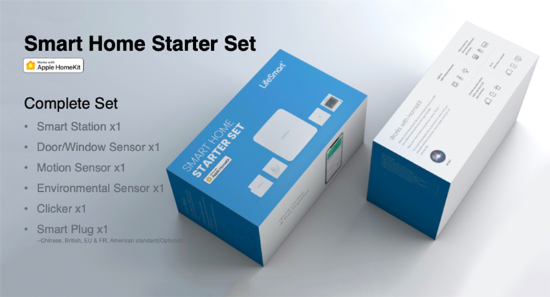 LifeSmart Lanzará HomeKit Starter Sets