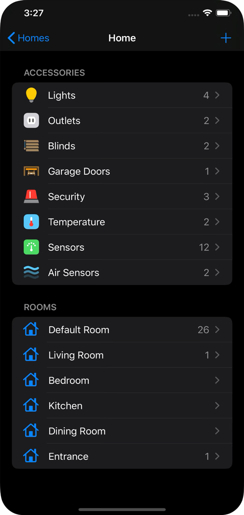 Nueva App Homekit