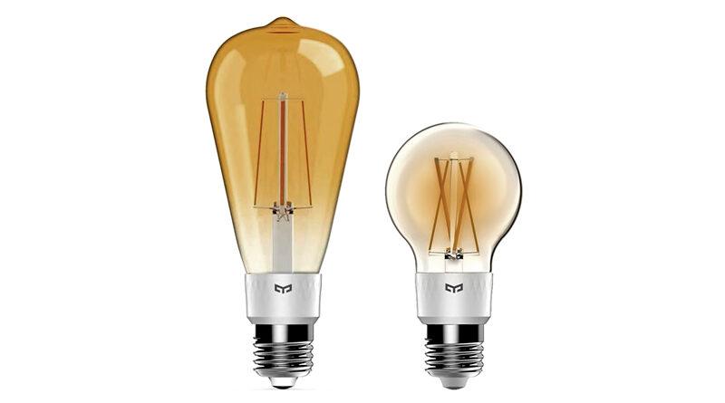 Yeelight A19 and ST64 Smart Filament Bulbs