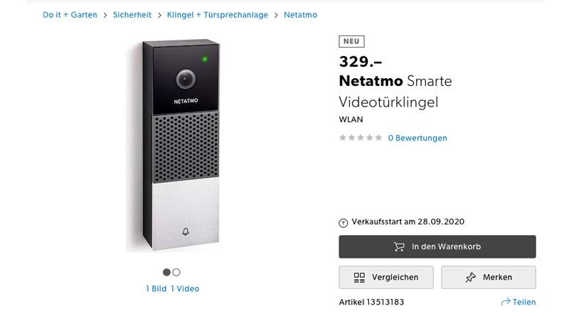 Nuevo VideoPortero Netatmo