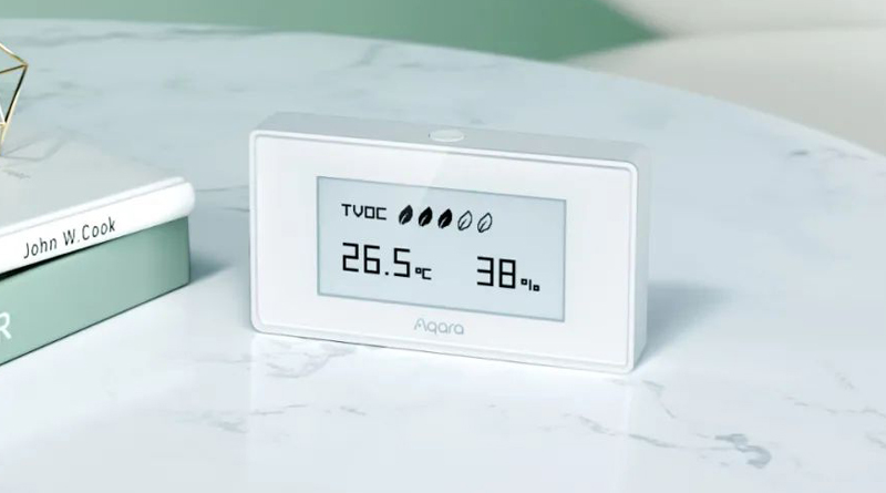 Nuevo Aqara TVOC y sensor PIR Aqara