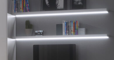 How to install LED Strip Lights – Bookcase & Shelving Lighting